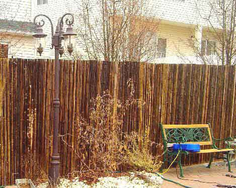 Bamboo Rolled Fencing