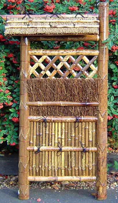 Koetsu Gaki Bamboo Fences Combination Of Brush And Bamboo