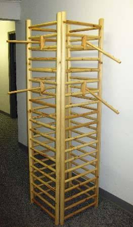 Wood Dowel Slatwall Panel