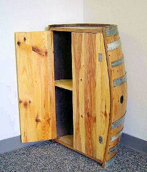 Wine Barrel Furnishing