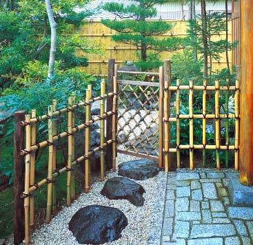 Build Japanese Fencing