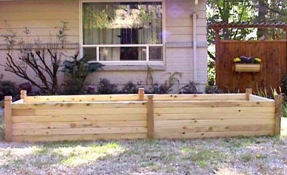 Wooden raised garden beds melbourne fl