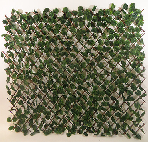 Faux Ivy Privacy Trellis Screen