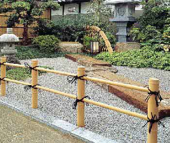 Fences In A Anese Style Garden Bamboo Fence