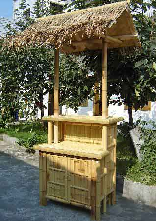Bamboo Mini Bar Counter