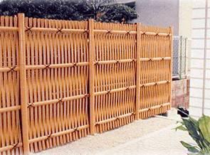 Charmant Otsugaki Woven Bamboo Fence. Rustic Woven Bamboo Fencing